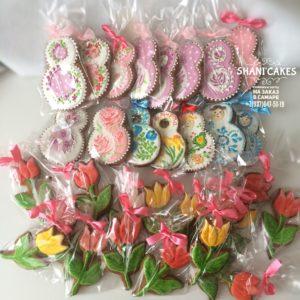 Пряники букет цветов