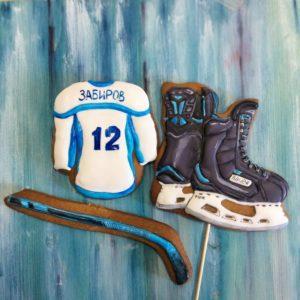 пряники для хоккеиста