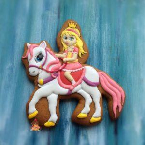 пряник принцесса на лошади