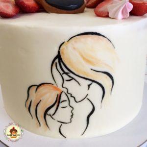 роспись по торту