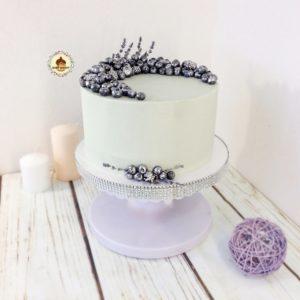 Свадебный торт с ягодами на заказ Самара