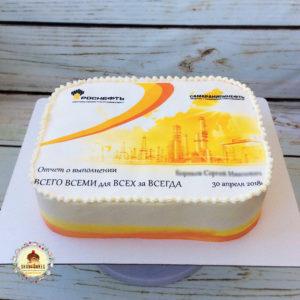 торт для роснефть