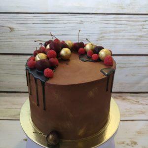 торт для мужчины шоколадный