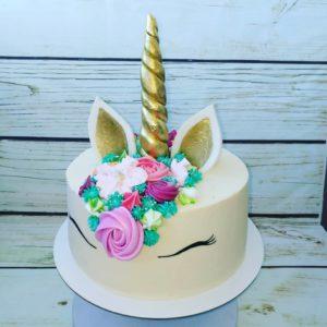 торт единорог для девочки