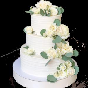 на свадьбу с розами